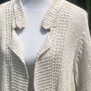 Eileen Fisher Sweaters - Eileen Fisher Open Knit Sweater Cardigan Size XL